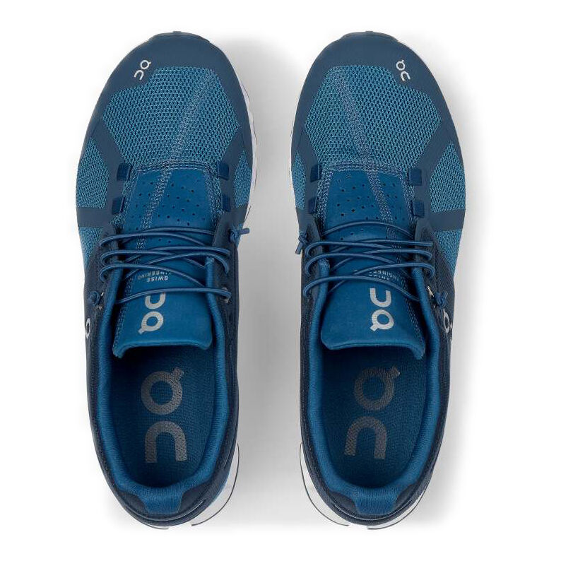 On Cloud Chaussure De Running Sans Stabilisateurs Hommes Bleu , Blanc