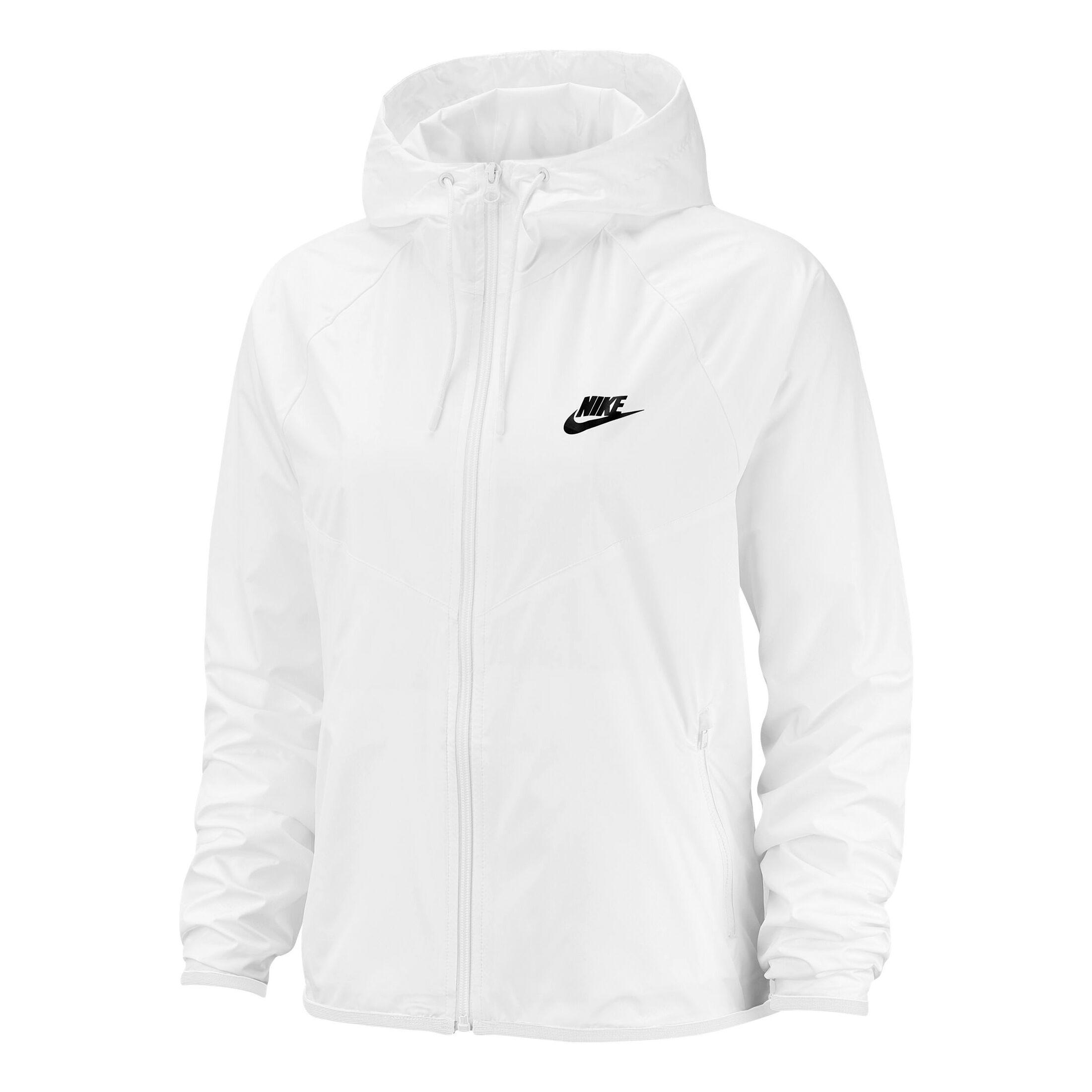 Sportswear Windrunner Veste De Survêtement Femmes Blanc , Noir